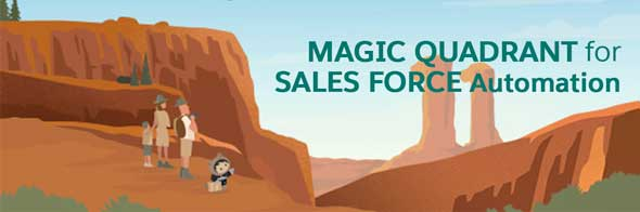 Magic Quadrant for Sales Force Automation banner